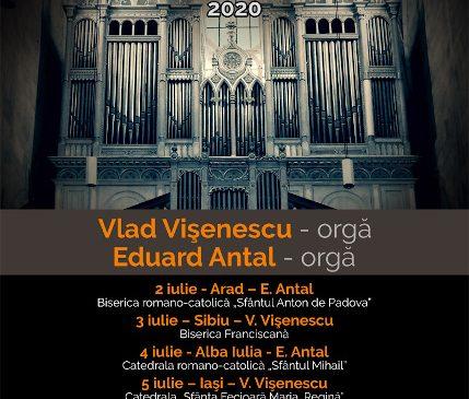 """""""Orgile României"""" – ediţia a II-a – 2-9 iulie 2020"""