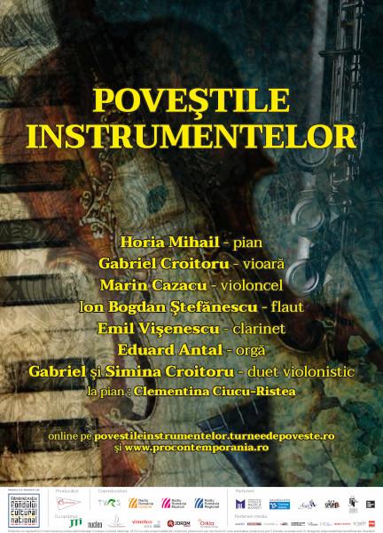afis Povestile instrumentelor