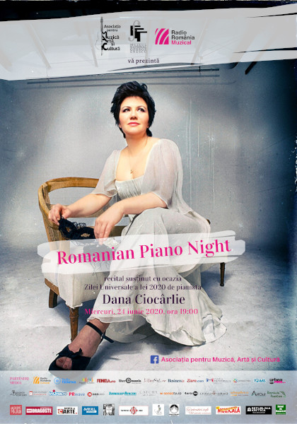 afis Romanian Piano Night