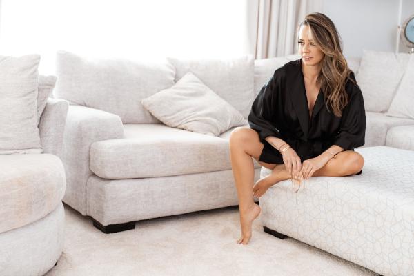 Andreea Raicu 7 Senses, colectie de haine de casa luxury