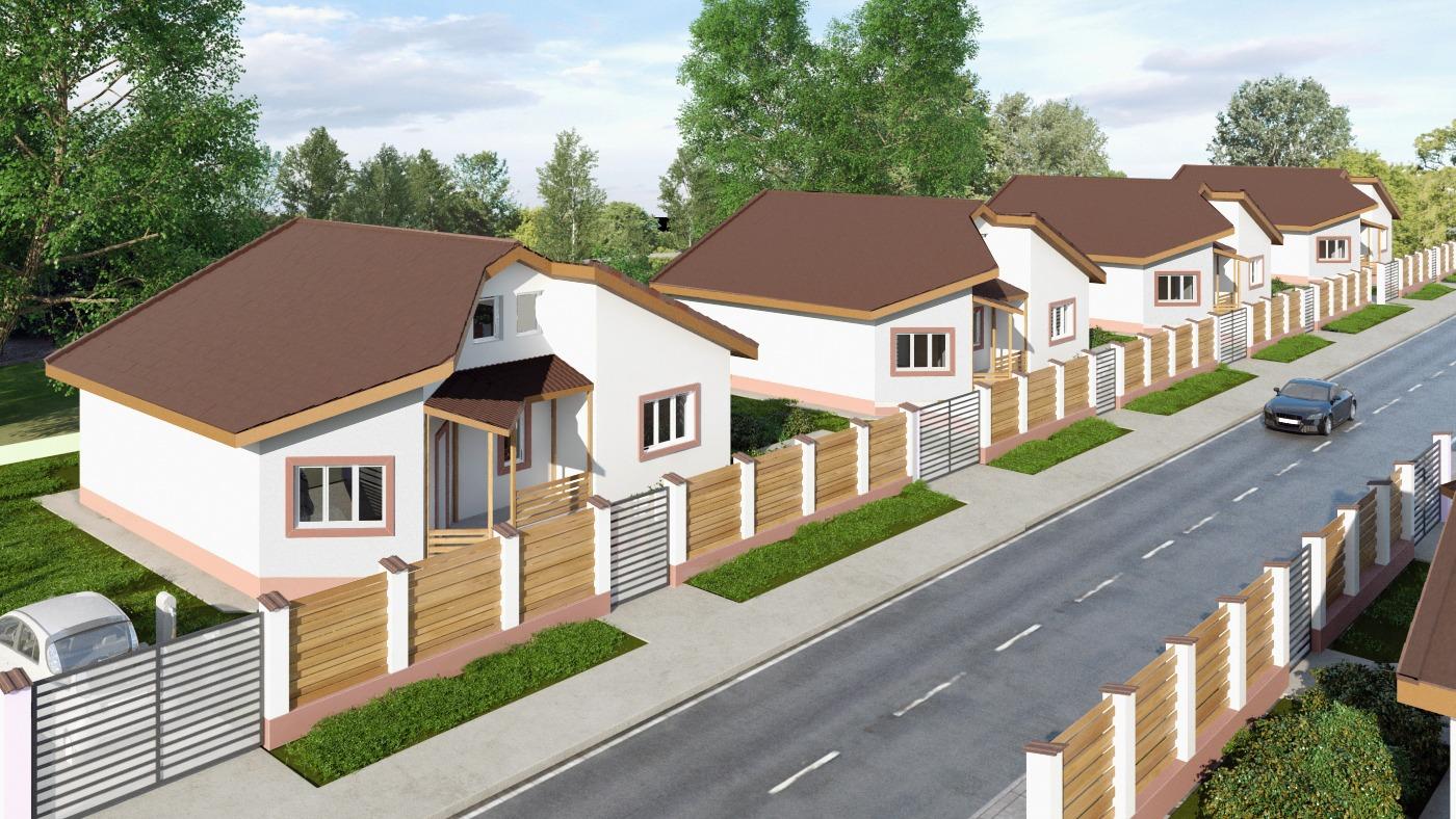 proiect rezidential unavia case un etaj