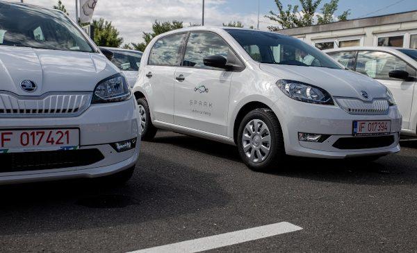 Compania internațională de car sharing SPARK își extinde flota în România și Bulgaria cu peste 200 de mașini ŠKODA CITIGOe iV