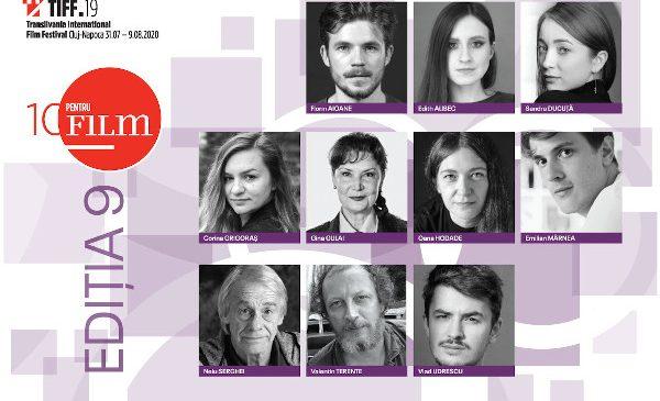 Cei 10 actori selectați în programul 10 pentru FILM la TIFF 2020