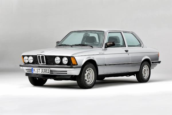 40 anniversary BMW 3 series, modelrange E21