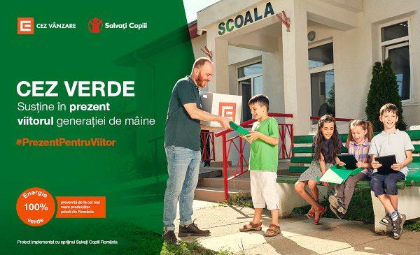 """CEZ Vânzare încurajează """"generația verde"""" să susțină accesul elevilor din medii defavorizate la școala online"""
