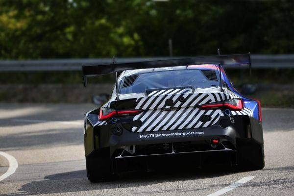Dingolfing (GER), 18th July 2020. BMW M4 GT3, rollout, BMW Group Plant Dingolfing, Augusto Farfus