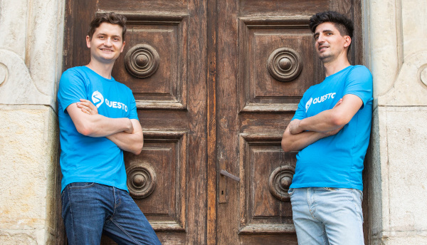 Fondatorii Questo: Alex Govoreanu & Claudiu Petria