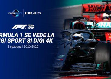 Formula 1 se vede în continuare la Digi Sport. Marele Premiu al Austriei este programat duminică