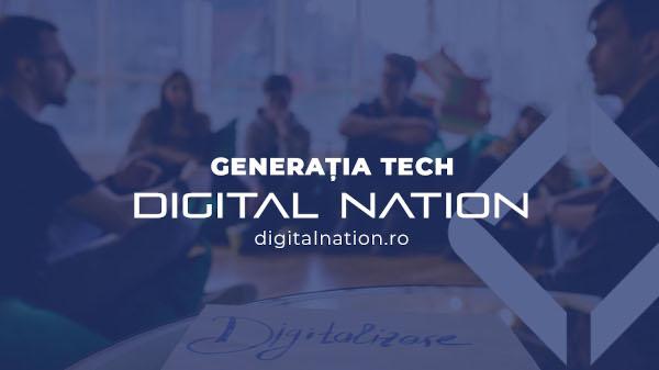Ce competențe au dezvoltat tinerii participanții ai primei serii a programului Generația Tech, după 100 ore de ședințe online în Digital Nation