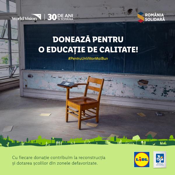 Lidl Romania_Romania Solidara_World Vision