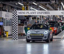 Un nou reper în producţia MINI Electric: 11.000 unităţi produse
