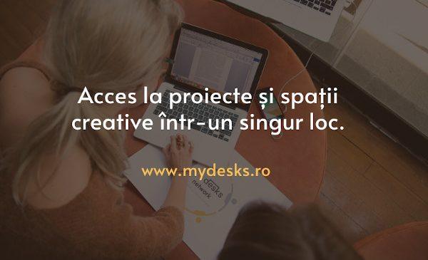 MyDesks.ro vine în ajutorul freelancerilor și lansează MyDesks Work