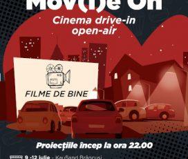 Începe festivalul de filme în aer liber în parcările magazinelor Kaufland