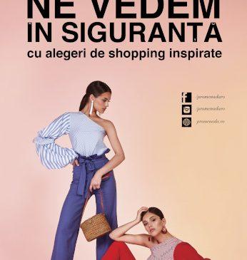 Vara aceasta, shopping-ul în siguranță este răsplătit cu premii surpriză la Promenada Mall