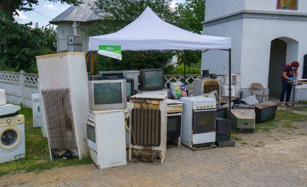 România Reciclează a început în forță: 60 tone de deșeuri electrice colectate la finalul primei luni de campanie