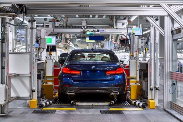 Start of production for the new BMW 5 Series Sedan at BMW Group Plant Dingolfing