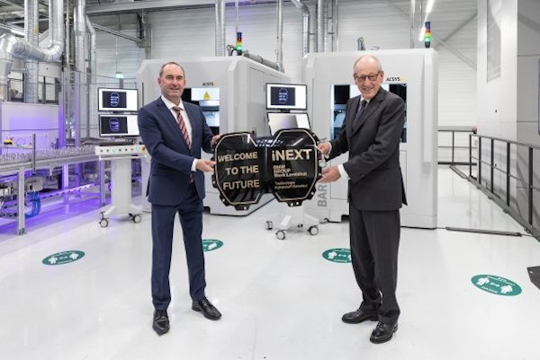 Start of production of high-tech components for the BMW iNEXT at BMW Group Plant Landshut, lower Bavaria