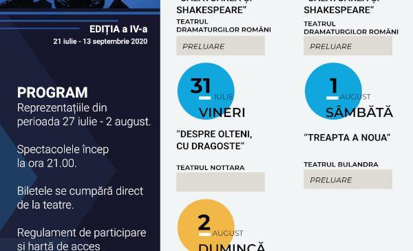 Evenimentul TEATRU ÎN TVR – vă invită la noi spectacole în grădina TVR
