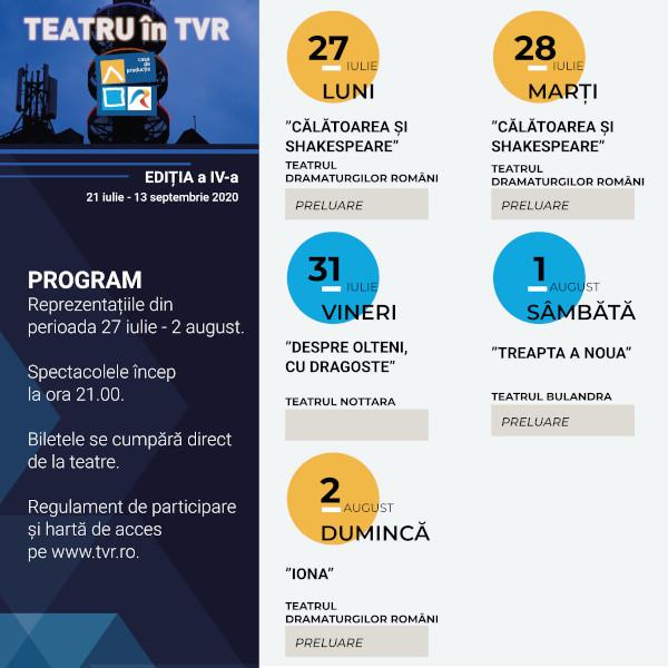 Teatru TVR Program sapt2