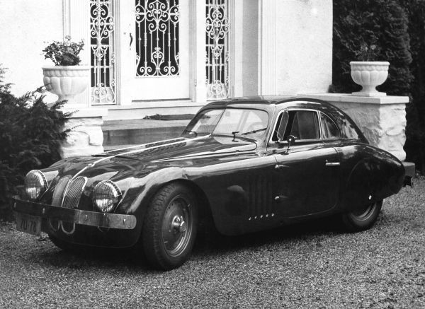 The BMW 328 Touring Coupe after partial rebuild by R. Grier