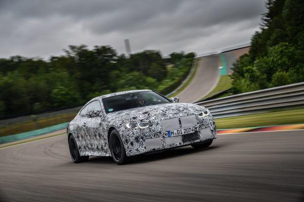 The new BMW M4 Coupé