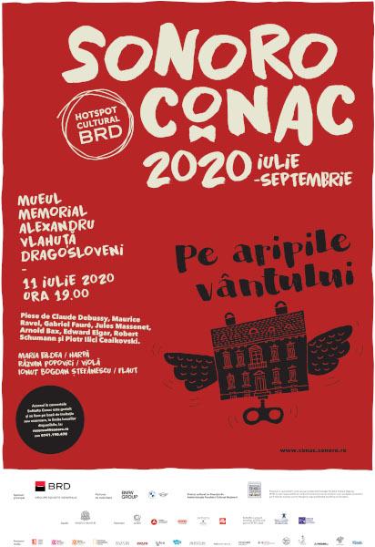 afis Sonoro Conac 2020 - Casa Vlahuta Dragosloveni