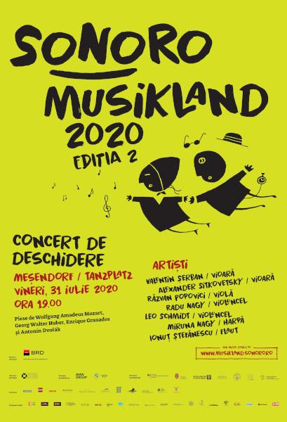 afis Sonoro Musikland 2020 MESENDORF Tansplatz