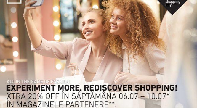 Profită de XTRA 20% reduceri în Băneasa Shopping City
