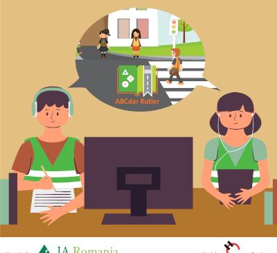 Peste 900 de elevi au descoperit ABC-ul rutier în a cincea ediție a programului derulat de Junior Achievement (JA) cu sprijinul Holcim România