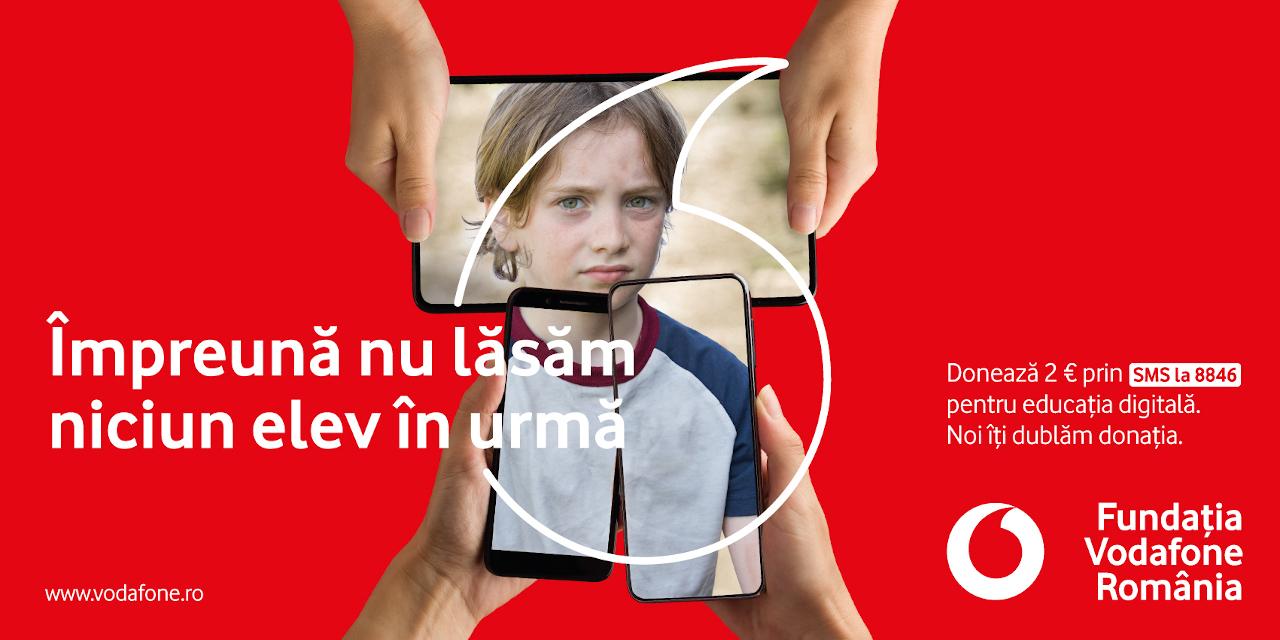 Vodafone Împreună nu lăsăm niciun elev în urmă Scoala din valiza