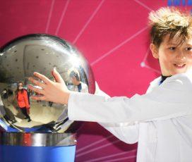 """Se redeschide expoziția """"Interactive Science"""""""