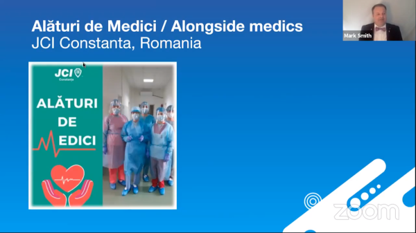 Best Local Global Goals Project - Alături de Medici / Alongside medics by JCI Constanta