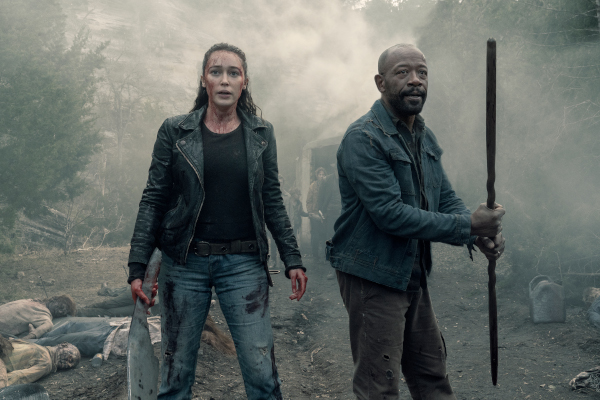 maraton Fear The Walking Dead 4 si 5
