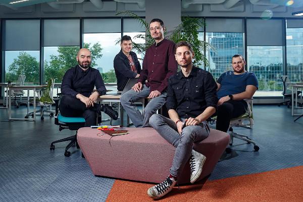 Bright Spaces - Andrei Constantin, Cofondator CTO, Eugen Mihai, UX U 3D, George Marin, Develope