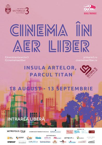 Cinema în Aer Liber 2020