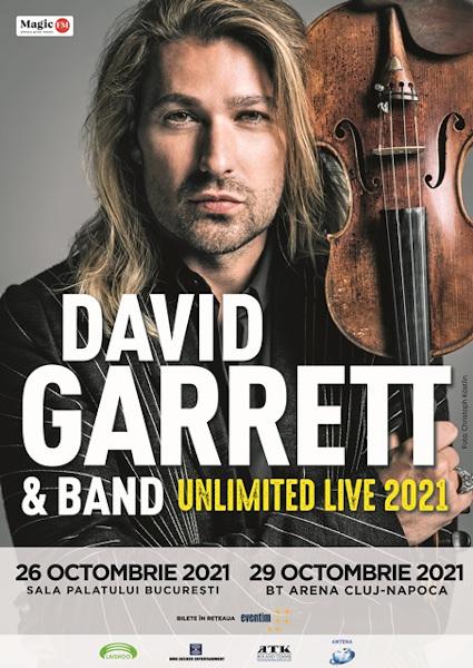 David Garrett poster 2021