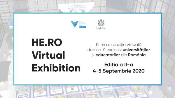 Începe ediția a doua a târgului educațional online HE.RO Virtual Exhibition