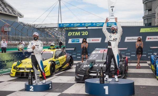 Spectacol până la final şi o dublă pentru BMW: Lucas Auer a câştigat cursa de duminică de la Lausitzring, urmat de Timo Glock