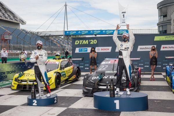Lausitzring (GER), 23rd August 2020. BMW M Motorsport, DTM Rounds 5 & 6, Lucas Auer (AUT), BMW Team RMR,#22 BMW Bank M4 DTM