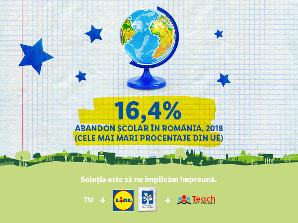 Lidl_Teach for Romania_Solutia este sa ne implicam impreuna