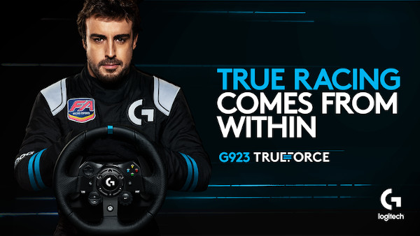 Logitech G oferă experiență ultra realistă cu noul volan de curse G923 pentru PC, PLAYSTATION4 și PLAYSTATION5*