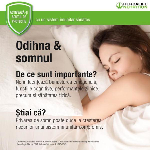 Metode sanatoase de a gestiona stresul - Somn