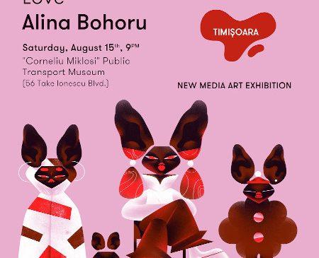 Expoziția de new media art One Night Gallery, pe 15 august la Timișoara