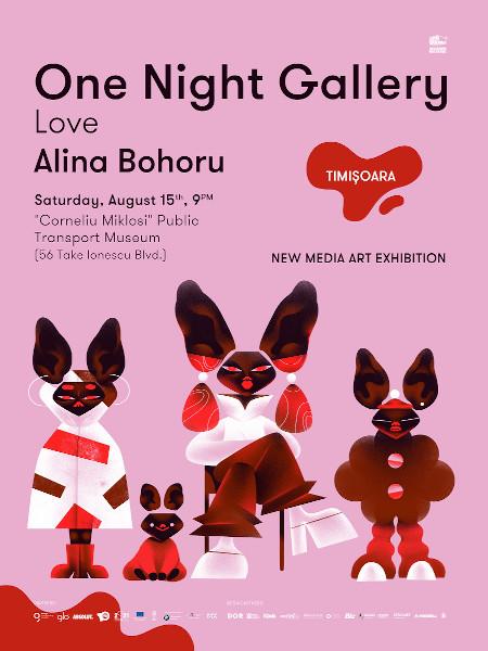 One Night Gallery_Alina Bohoru_Timișoara
