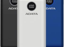 ADATA lanseaza doua powerbank-uri cu capacitate mare si fast charging