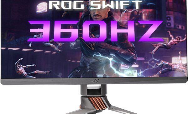 ASUS Republic of Gamers (ROG) anunță disponibilitatea în septembrie a celui mai rapid monitor de gaming din lume, ROG Swift 360Hz