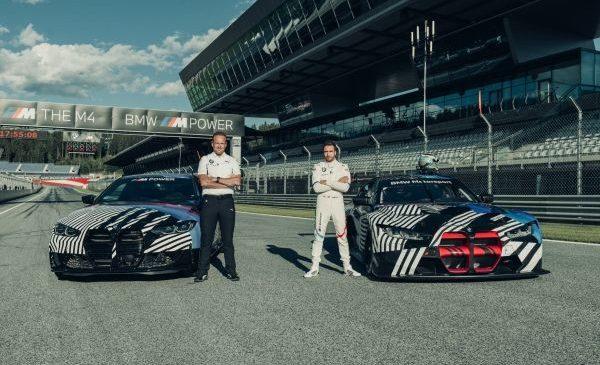 De pe şosea pe circuit: prima apariţie comună a prototipurilor BMW M4 Coupé şi BMW M4 GT3 în timpul MotoGP