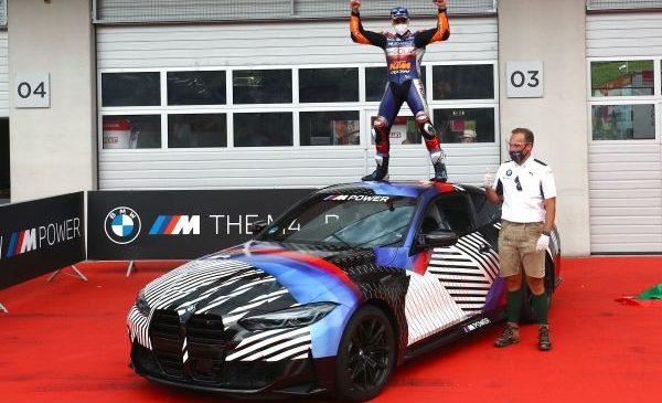 BMW M MotoGP Grand Prix of Styria: a fost prezentat noul BMW M8 Gran Coupé Safety Car – Miguel Oliveira a câştigat noul BMW M4 exclusiv