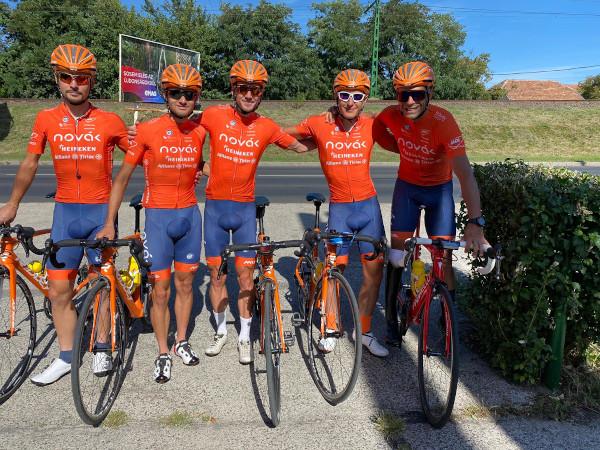 Team NOVAK la Turul Ungariei 2020
