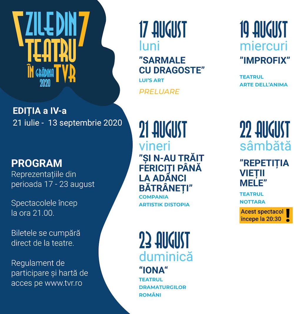 Teatru-TVR_Program sapt 17-23 aug